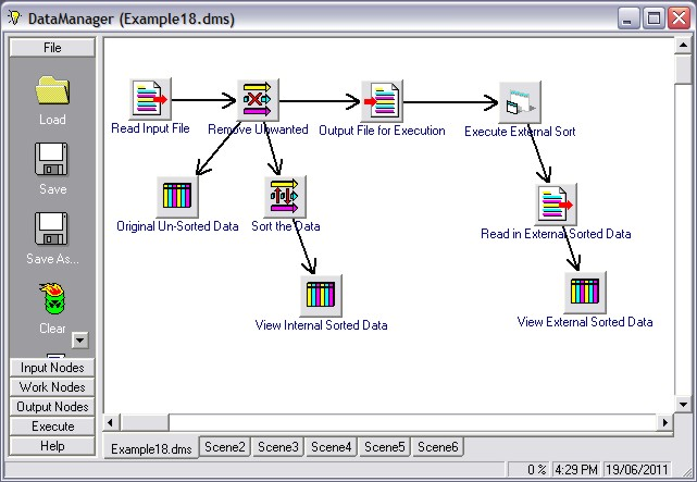 Data Manager Software Sample 6